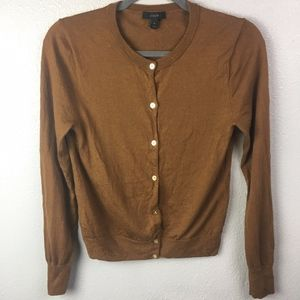 J. Crew Button Down Cardigan Sweater Long Sleeve
